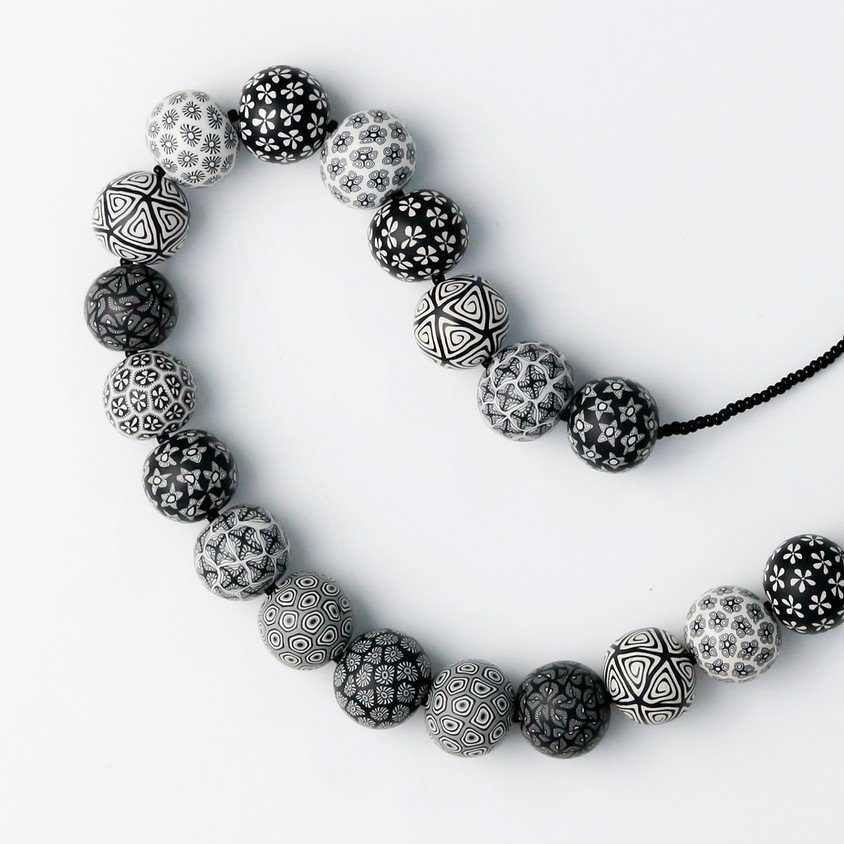 January 2020 Clay Day - build a mix-and-match bead necklace!