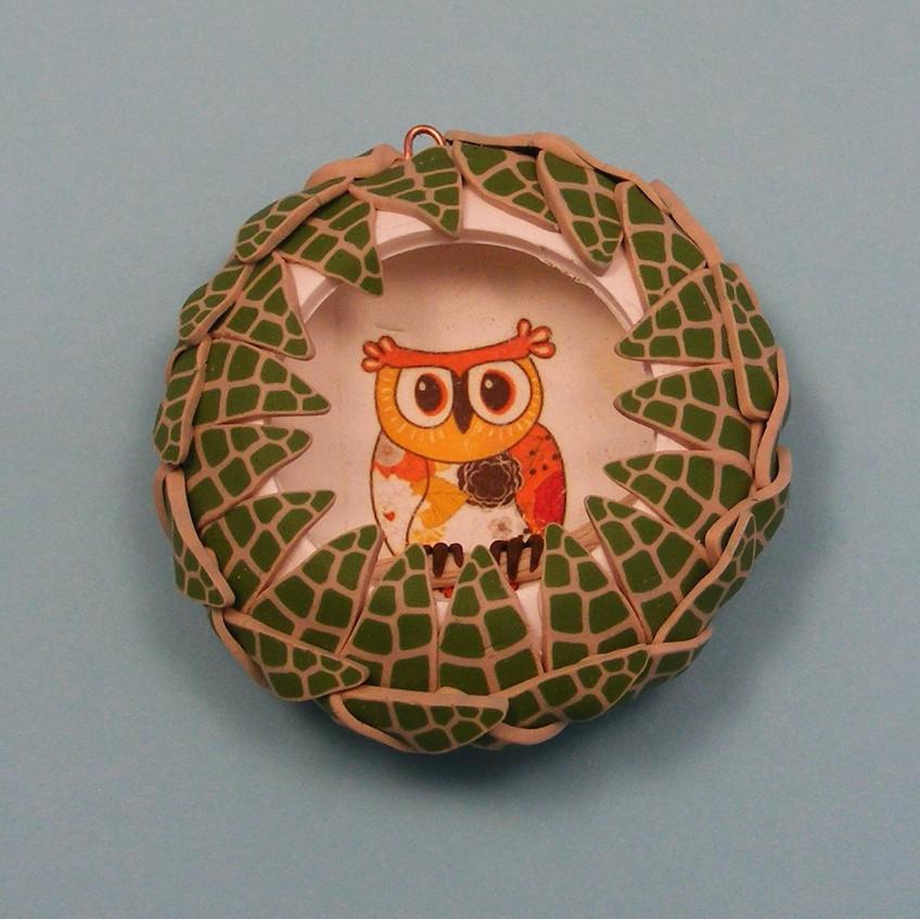 JB owl bauble