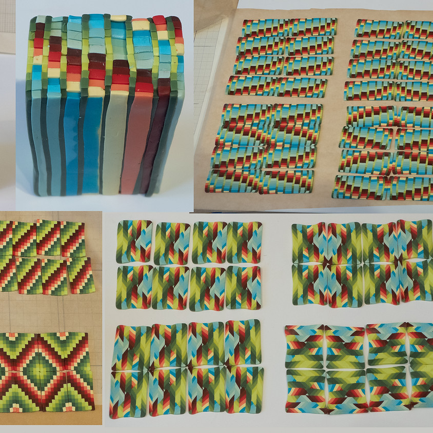 Bargello Inspired Canes