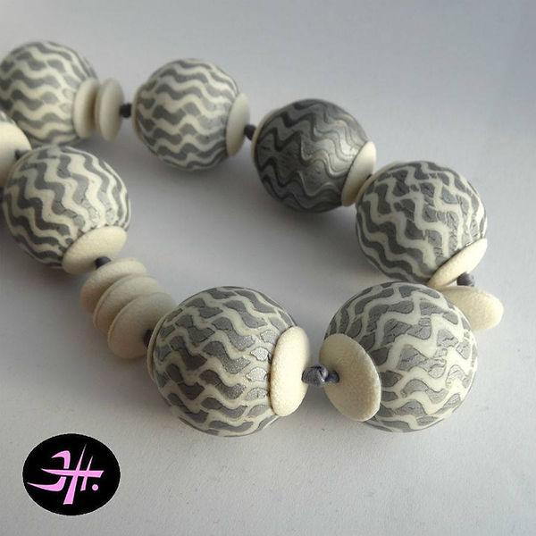 faux mosaic hollow beads.jpg