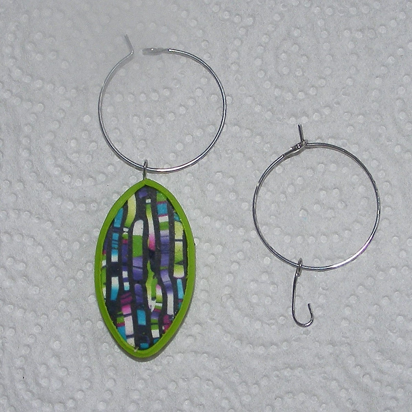December Clay Day - glass charms/own projects