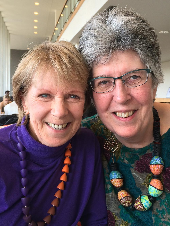 Carol Blackburn and Anne Parker
