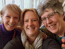 Carol, Ruth and Ann