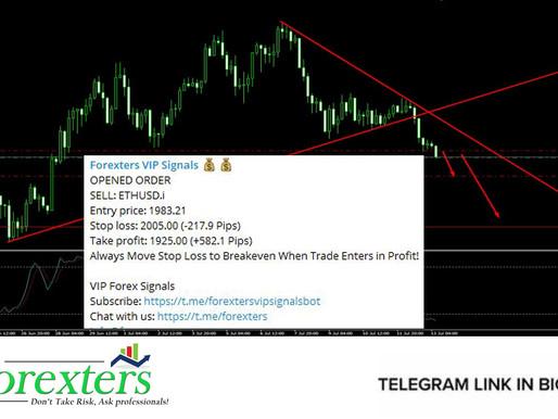 ETH/USD Trading Signal - July 13, 2021