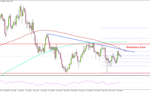 EUR/USD Facing Resistance, GBP/USD Remains Elevated