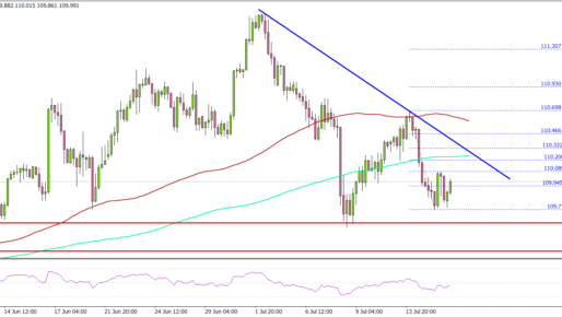 USD/JPY Holds Key Support, What Could Trigger Fresh Increase?