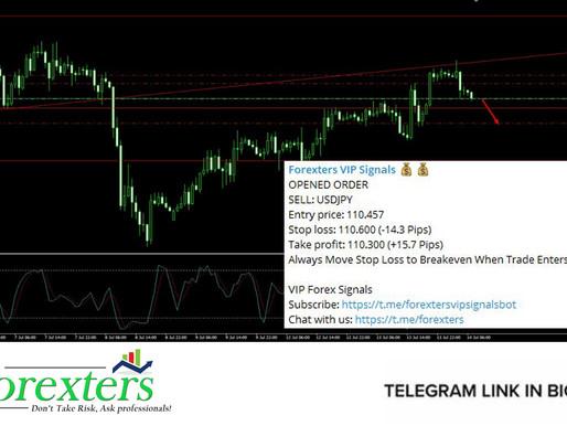 USDJPY Trading Signal - July 14, 2021