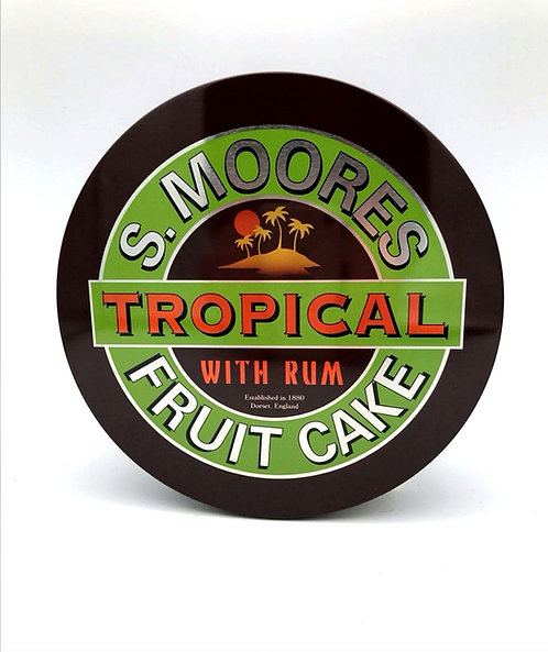 Moore's Tropical Fruit Cake with Rum