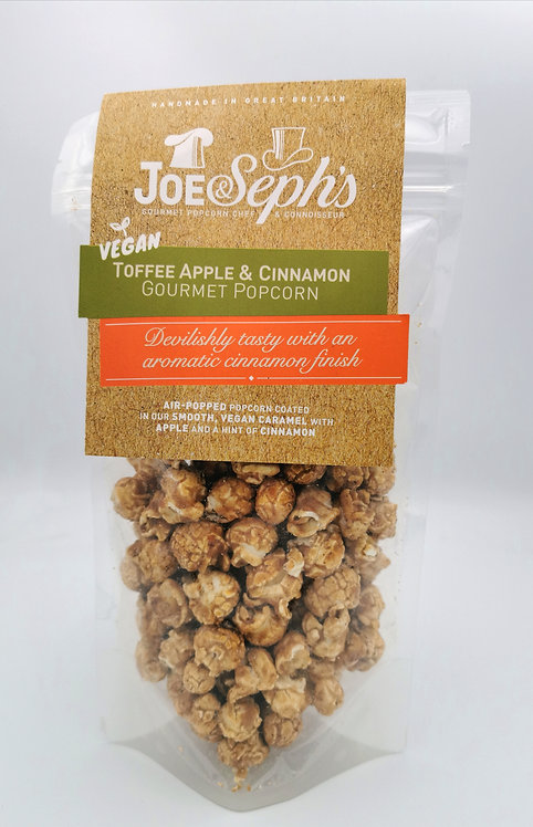 Joe & Seph VEGAN Toffee Apple and Cinnamon popcorn