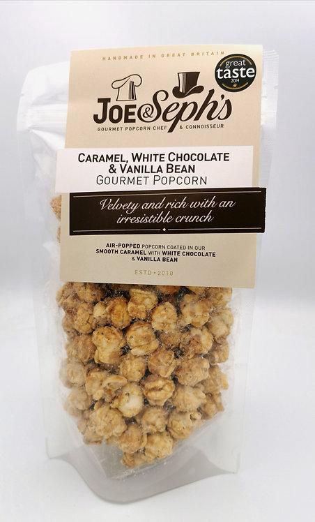 Joe & Seph Caramel, White Chocolate and Vanilla Popcorn