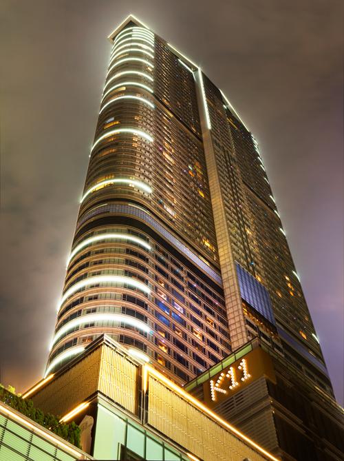 La catena di Art Mall asiatica chiamata K11, fondata nel 2008 dal giovane miliardario Adrian Cheng.