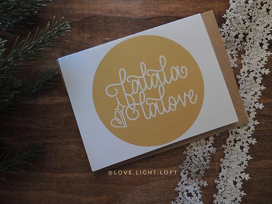FA LA LA LA LOVE | Holiday Card