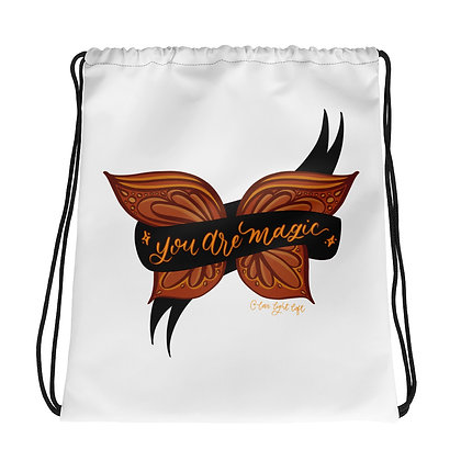 YOU ARE MAGIC • Drawstring bag