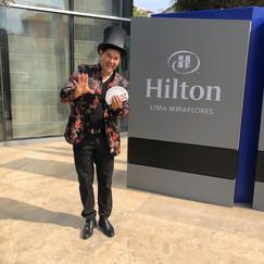 Mago rodolfo Evento Hilton