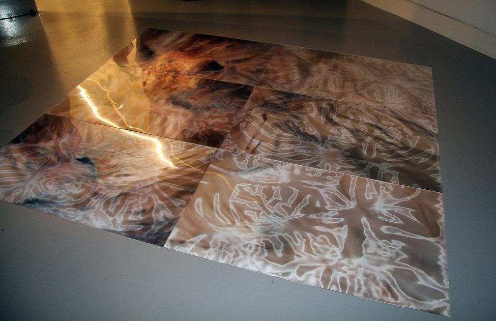1, Trust Me, Mixed Media, 210 x 244cm, 2