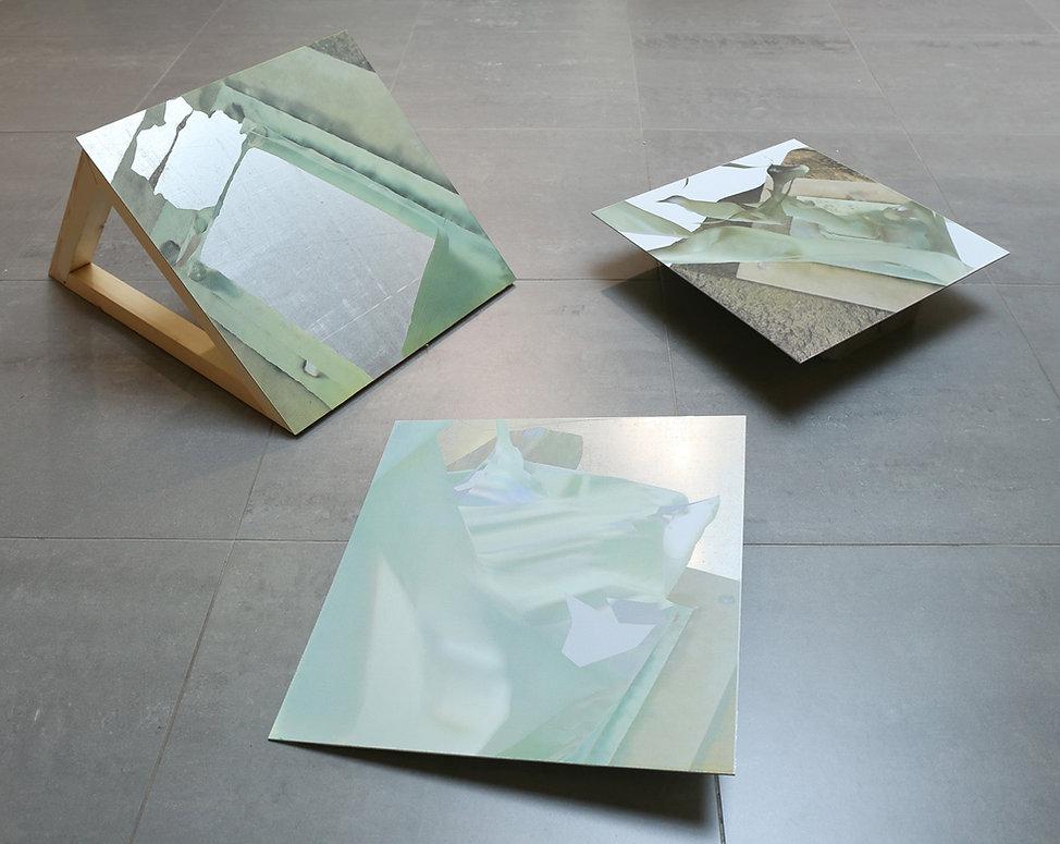 Traverse, 2015, Mixed Media, 300 x 300cm