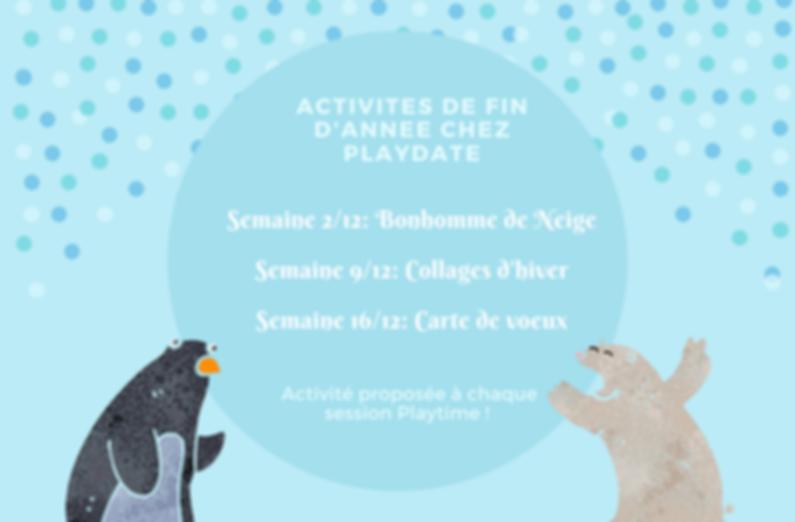 Copy of ACTIVITES DE FIN D'ANNEE CHEZ PL
