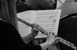 Flautists, Darlington Orchestra, 201