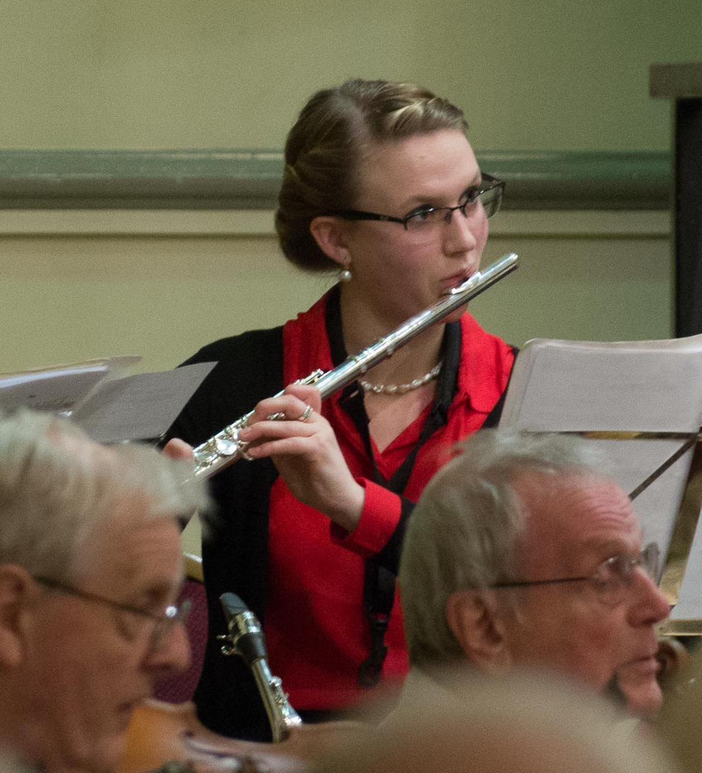 Flautist, Darlington Orchestra, 2015