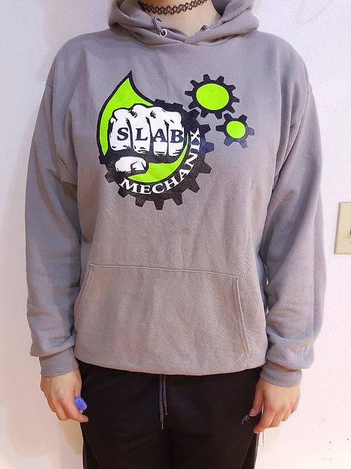 Grey Slab Mechanix Hoodie