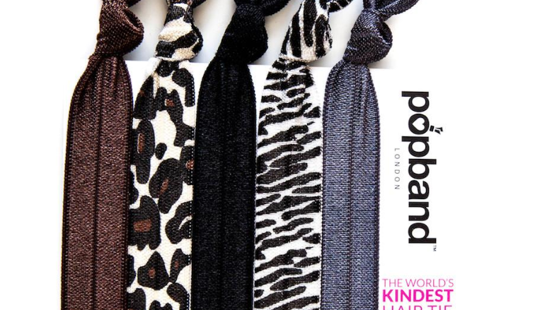 Popbands - 5 pack Hair Ties - Animal