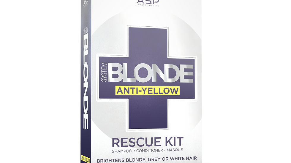 System Blonde - Anti Yellow Rescue Kit