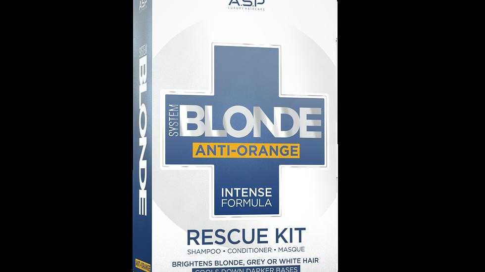 System Blonde - Anti Orange Rescue Kit