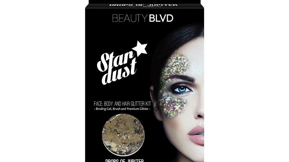 Beauty Blvd Stardust Face and Body Glitter - Drops of Jupiter