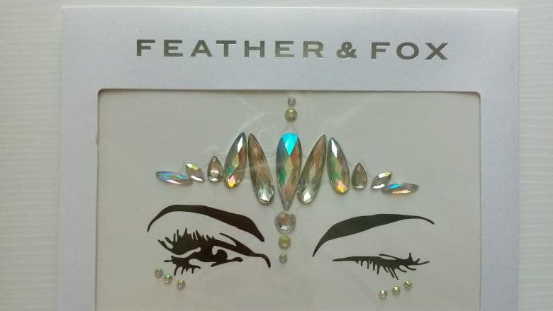 Feather & Fox -  Face and Body Jewels No1.