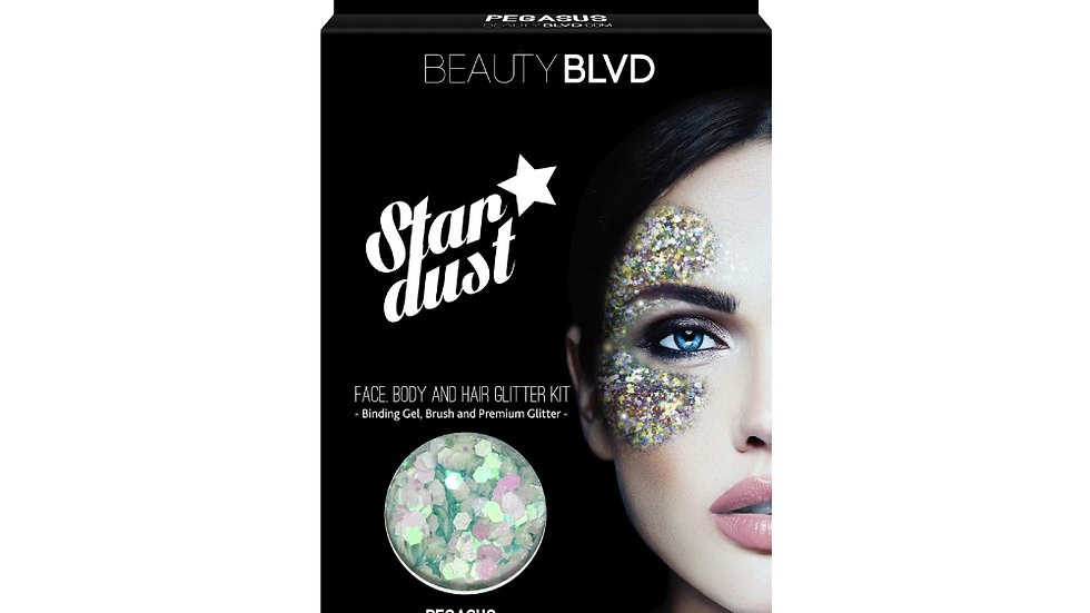 Beauty Blvd Stardust Face and Body Glitter - Pegasus
