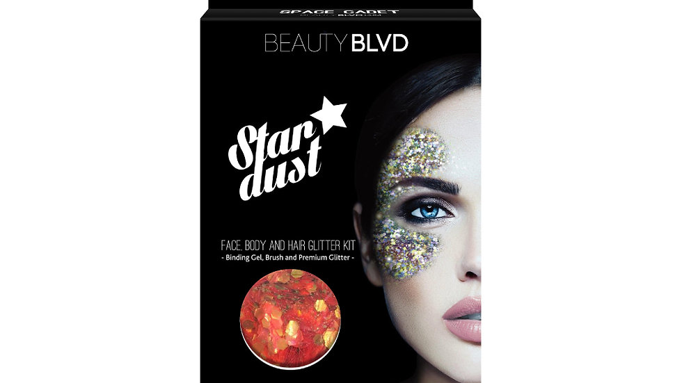Beauty Blvd Stardust Face and Body Glitter - Space Cadet
