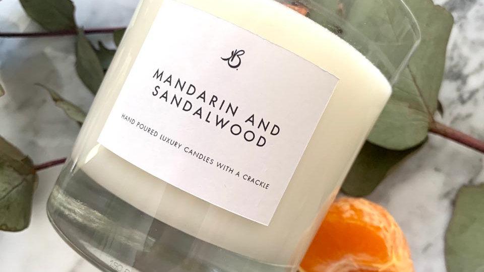 Mandarin and Sandalwood - 200g