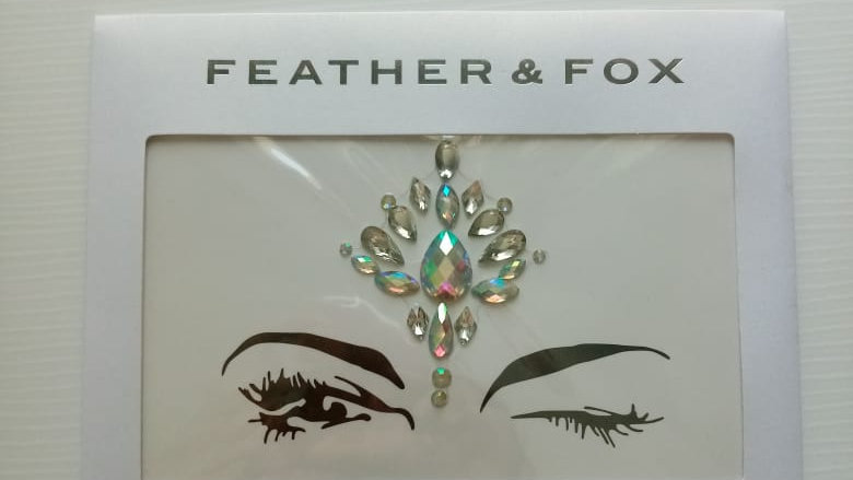 Feather & Fox - Face and Body Jewels No 2.