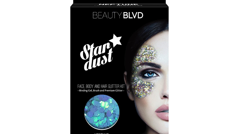 Beauty Blvd Stardust Face and Body Glitter -Neptune