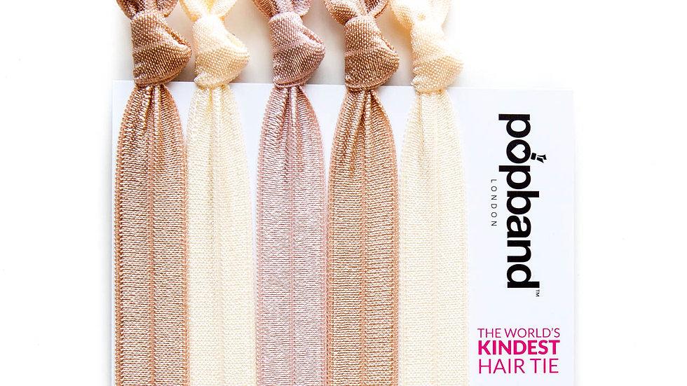 Popbands - 5 pack Hair Ties - Blondie