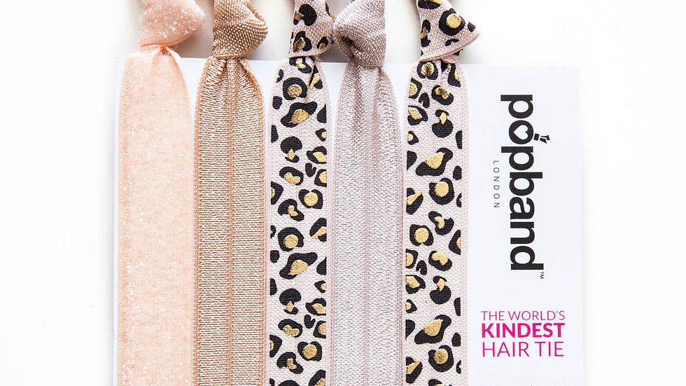 Popbands - 5 pack Hair Ties -Wild Thing