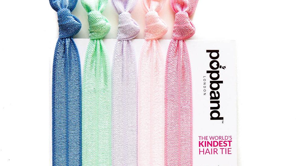 Popbands - 5 pack Hair Ties - Milkshake