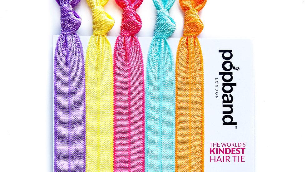 Popband Hair Ties 5 Pack - Pop