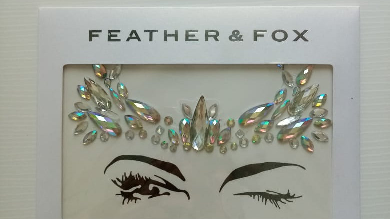 Feather & Fox - Face and Body Jewels No 4.