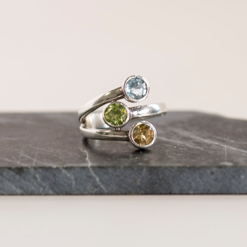 Cosmic Trio Ring