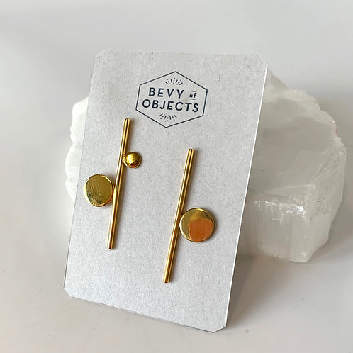 Mod Circle earrings_Large