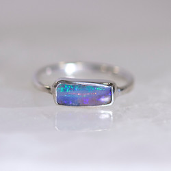 opal ring front view
