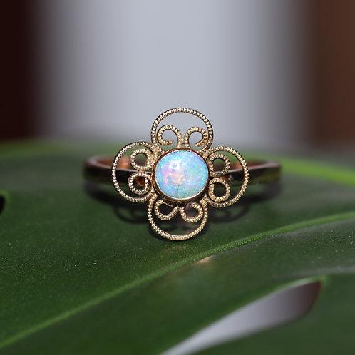 Hobe Opal Rose Gold ring