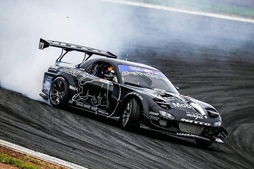 TCP Magic Mazda RX7 Drift Carbon Widebody Kit
