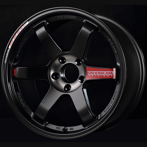 Volk Racing TE37SL Black Edition III Wheel - 18x10.5 / Offset +14 / 5x114.3