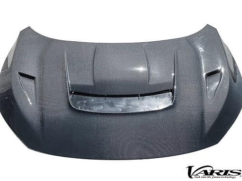 Varis Arising I Carbon Vented Cooling Hood for 2017-19 Honda Civic Type R [FK8]