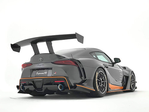 VARIS CARBON REAR DIFFUSER FOR WIDEBODY FOR 2019+ TOYOTA SUPRA GR [A90] VATO-353