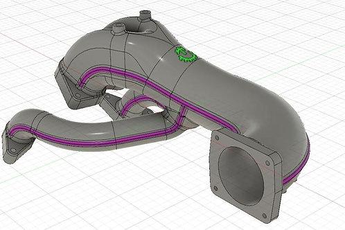 Turblown RX8 Cast Upper Intake Manifold