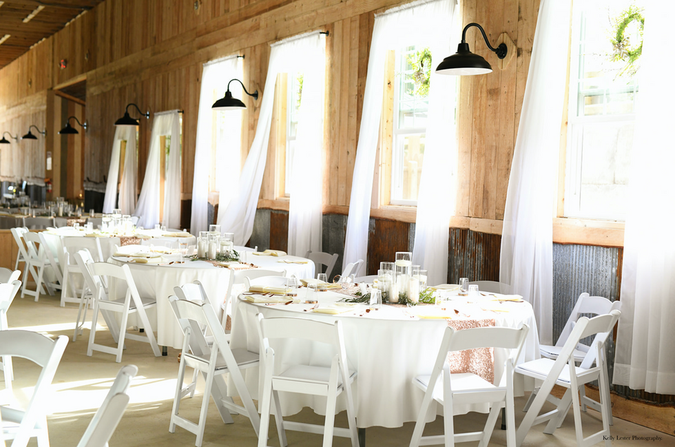 Classic styling - elegant, rustic - your choice!