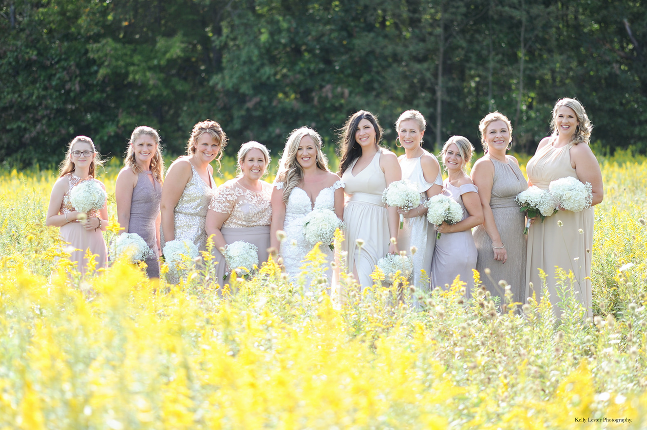 So pretty - the colors really compliment these beautiful women.